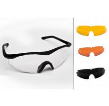 Occhiale TTD no-fog lente neutra + 3 lenti