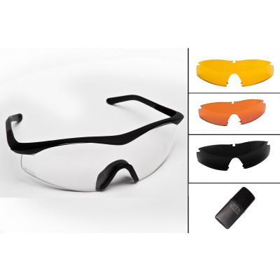 Occhiale TTD no-fog lente neutra +  lente a scelta + trattamento